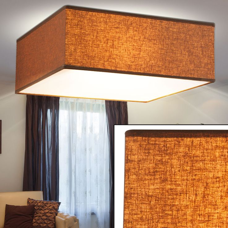 Ceiling lamp in brown for your living room PACO – Bild 3