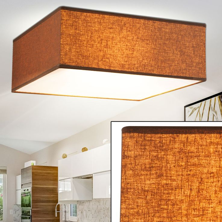 Ceiling lamp in brown for your living room PACO – Bild 2