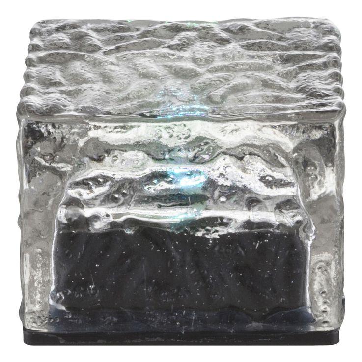 4er Set Farbwechsel Solarleuchten im Eiswürfel Design – Bild 10