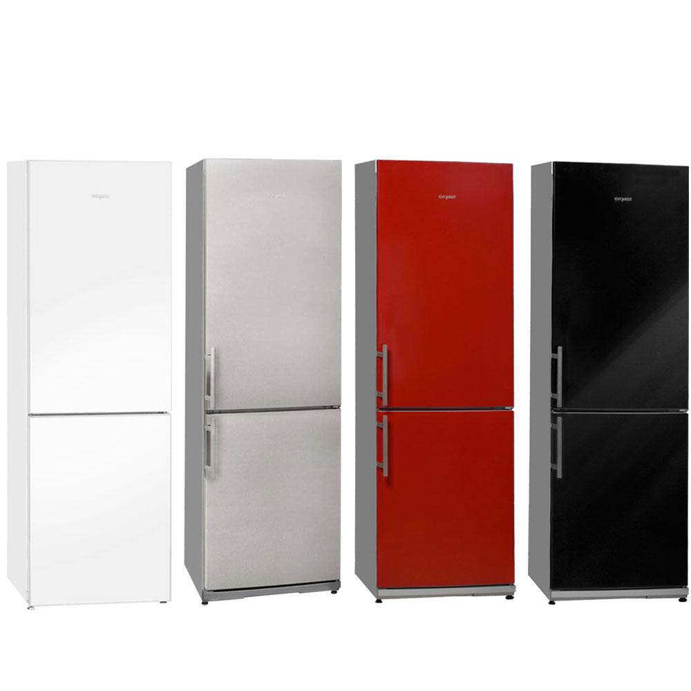 edelstahl k hl gefrierkombination a in verschiedenen. Black Bedroom Furniture Sets. Home Design Ideas