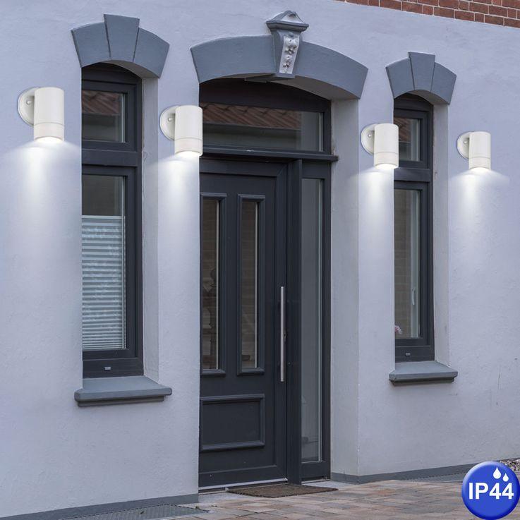 Outdoor luminaire white downlight wall lamp IP44 facades lighting Globo 32004-1 – Bild 4