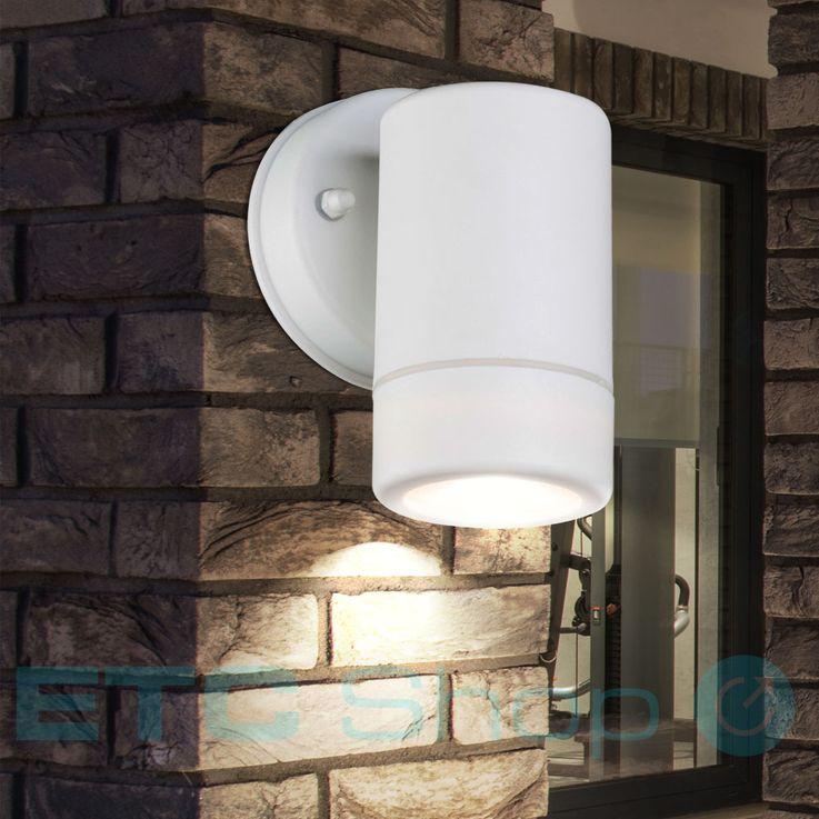 Outdoor luminaire white downlight wall lamp IP44 facades lighting Globo 32004-1 – Bild 2