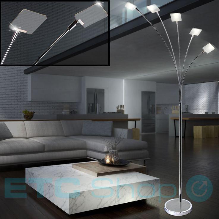 Lampadaire de luxe à LED pour salon de plafond Projecteur de plafond pivotant EEK A + Esto 726003-5 – Bild 2