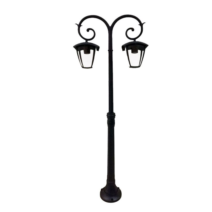 Outdoor light Garden way Candelaber ALU Floor lighting IP44 Glass floor lamp V-TAC7061 – Bild 1