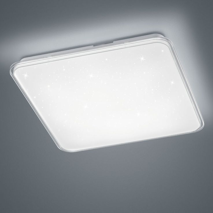 LED ceiling light bedroom stars sky effect DIMMER light EEK A + trio lights 657910100 – Bild 5