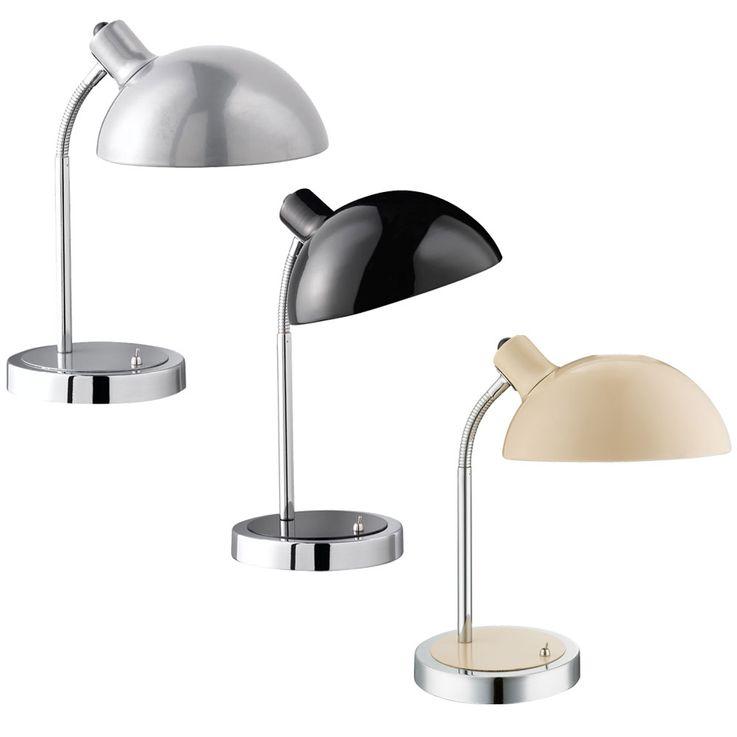 Une lampe de table disponible en noir, argent ou ivoire – Bild 1