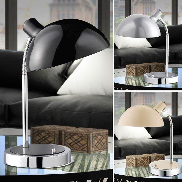 Table light available in black, silver or ivory – Bild 2
