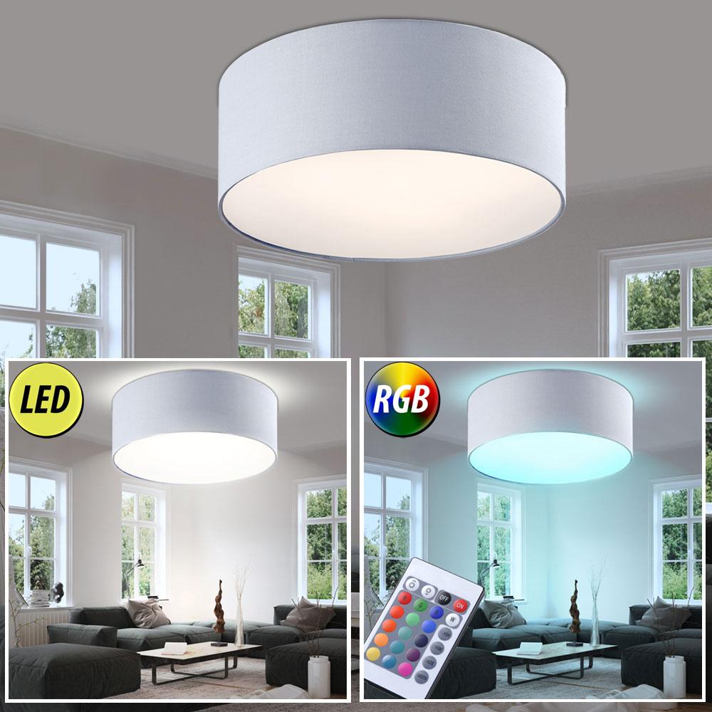deckenleuchte wahlweise mit led oder rgb led leuchtmittel unsichtbar lampen m bel. Black Bedroom Furniture Sets. Home Design Ideas