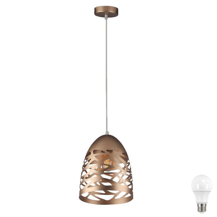 Lampe à suspension LED dans la conception des trous, hauteur 130cm VT-7200 – Bild 1