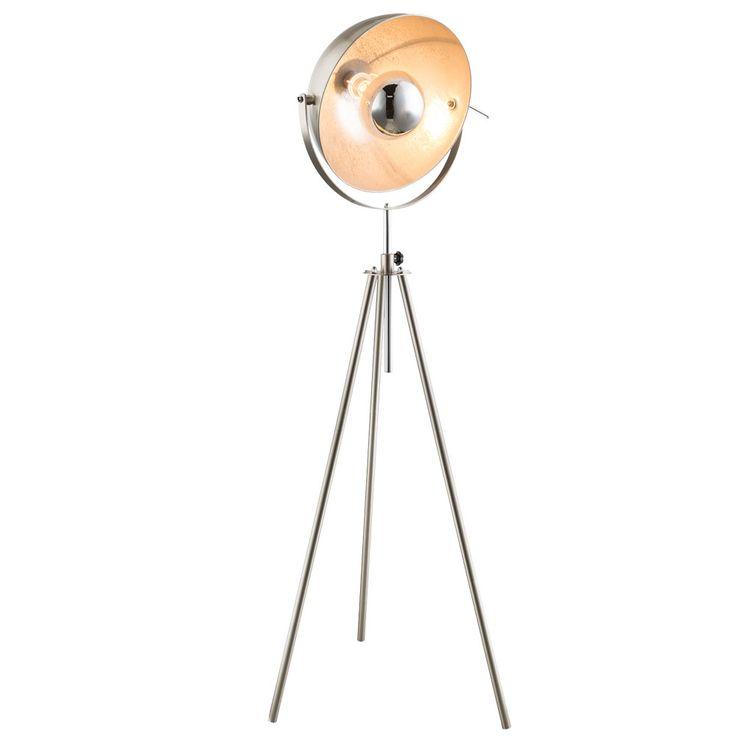 Steh Lampe Wohn Zimmer Schalter Lese Strahler höhenverstellbar Spot Leuchte schwenkbar Globo 58306 – Bild 1