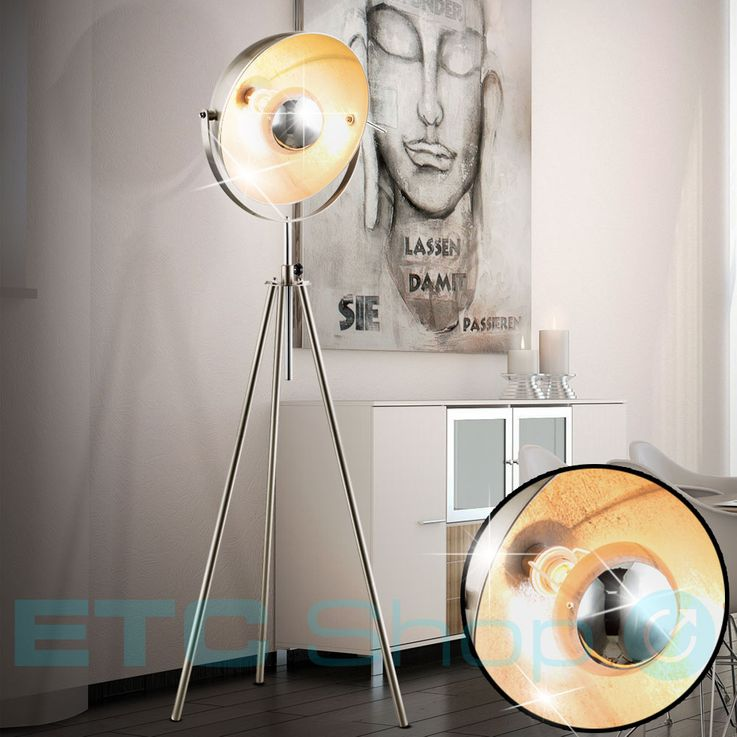 Design Lampadaire avec lampe pivotante NOSY – Bild 2