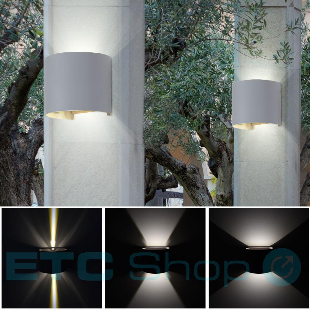 led wandleuchte f r den au enbereich up down vt 756g. Black Bedroom Furniture Sets. Home Design Ideas