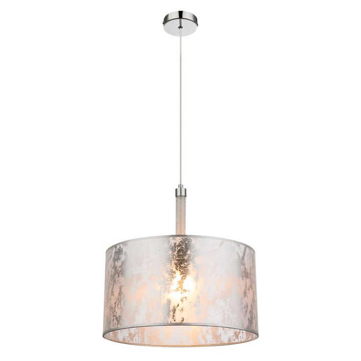 Design Pendulum light with textile lampshade AMY II – Bild 1