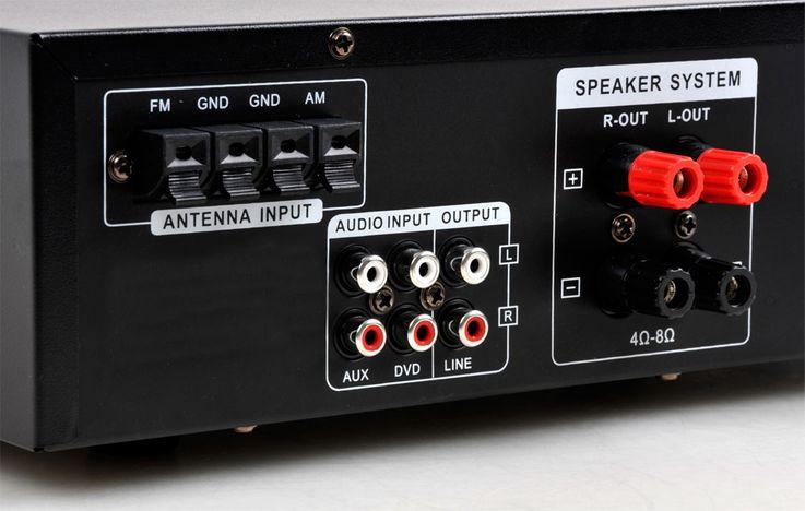 Hifi Heimkino Musikanlage Bluetooth USB MP3 Verstärker schwarze Standboxen HIFI-Premium 20 – Bild 7
