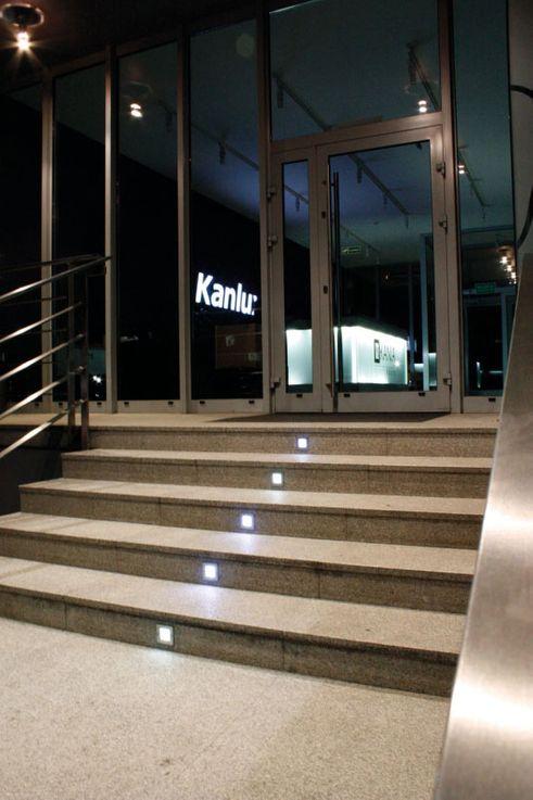 LED Wand Einbau Leuchte Außen Beleuchtung Tritt Stufen Treppen Lampe Kanlux 26461 – Bild 6