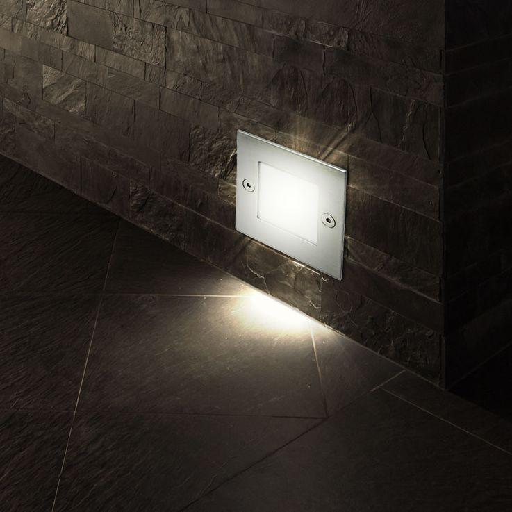 LED Wand Einbau Leuchte Außen Beleuchtung Tritt Stufen Treppen Lampe Kanlux 26461 – Bild 9
