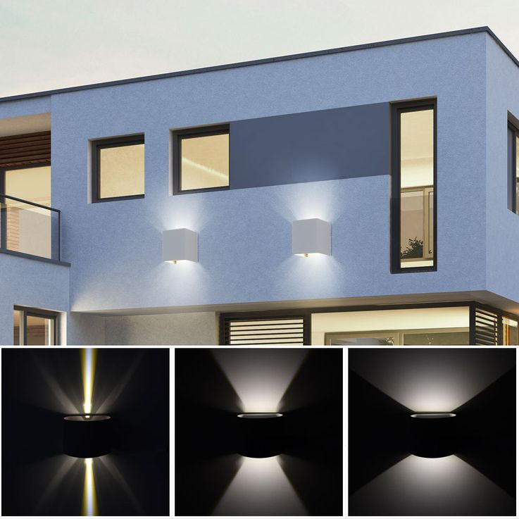 Set of 5 LED wall lights for your yard to adjust VT-759G – Bild 6