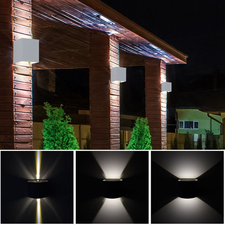 Set of 5 LED wall lights for your yard to adjust VT-759G – Bild 5