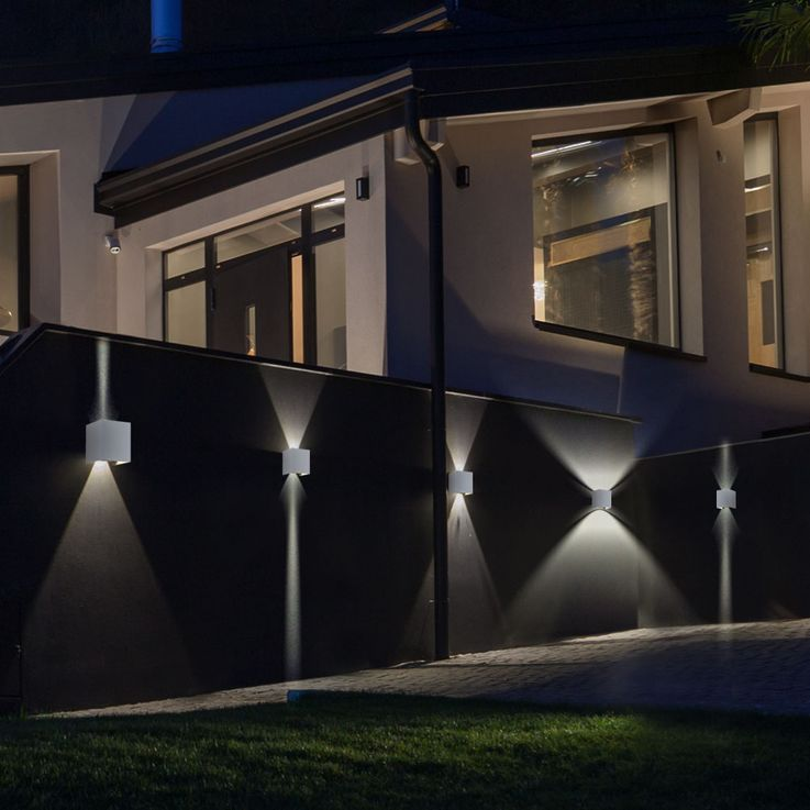 Set of 5 LED wall lights for your yard to adjust VT-759G – Bild 2