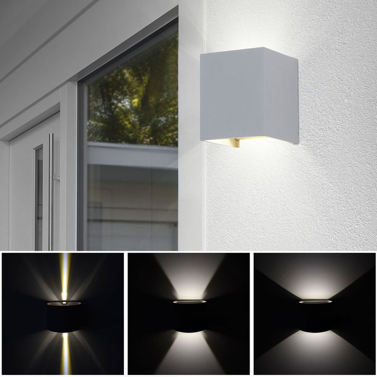 Set of 5 LED wall lights for your yard to adjust VT-759G – Bild 3