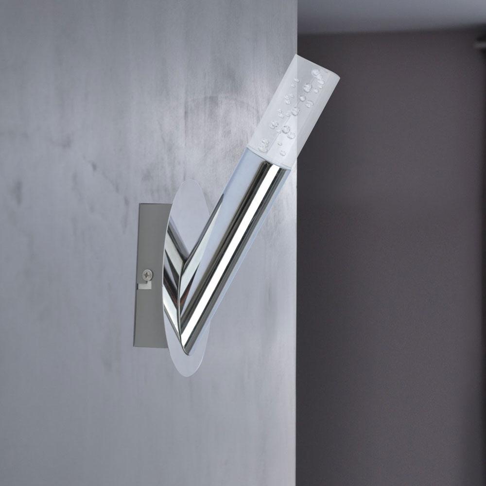 5er set led wandlampen mit luftblasen f r den wohnraum midu. Black Bedroom Furniture Sets. Home Design Ideas
