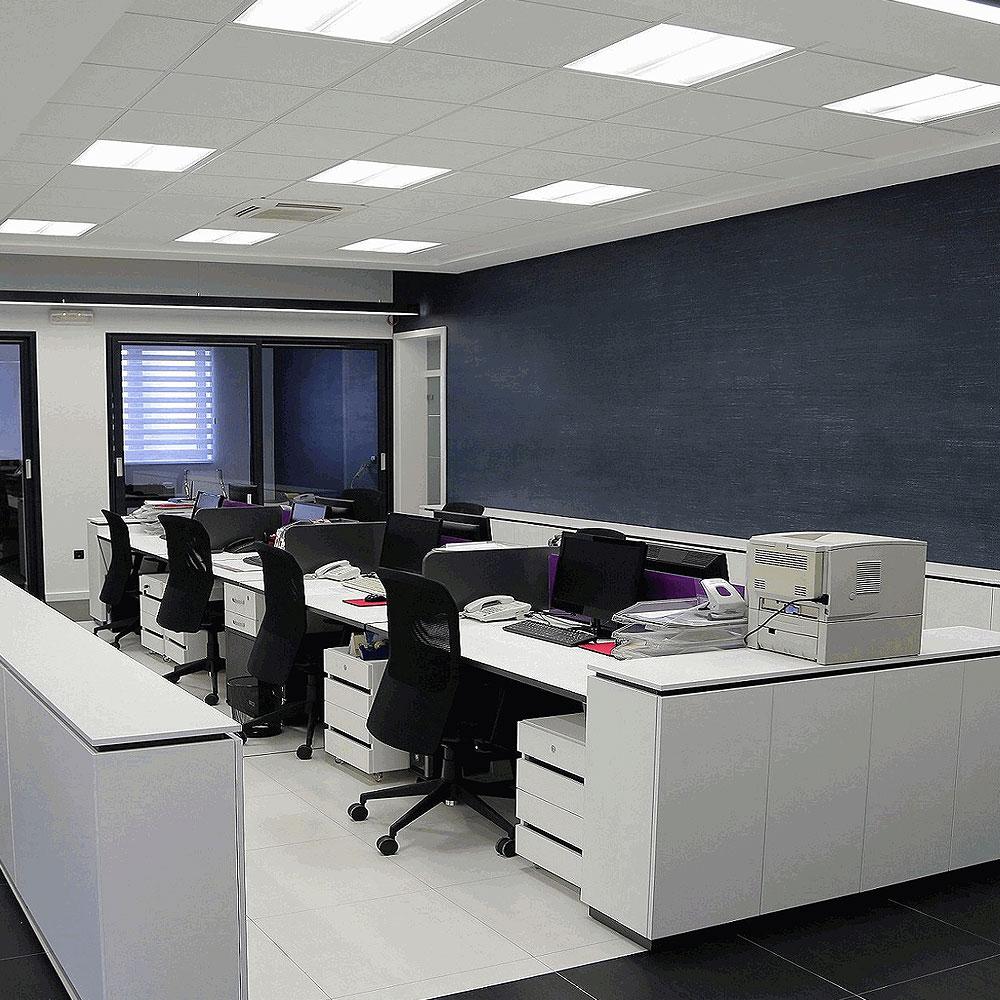 3er set led deckenlampen schlafzimmer einbauleuchten eckig flur wandstrahler alu ebay. Black Bedroom Furniture Sets. Home Design Ideas