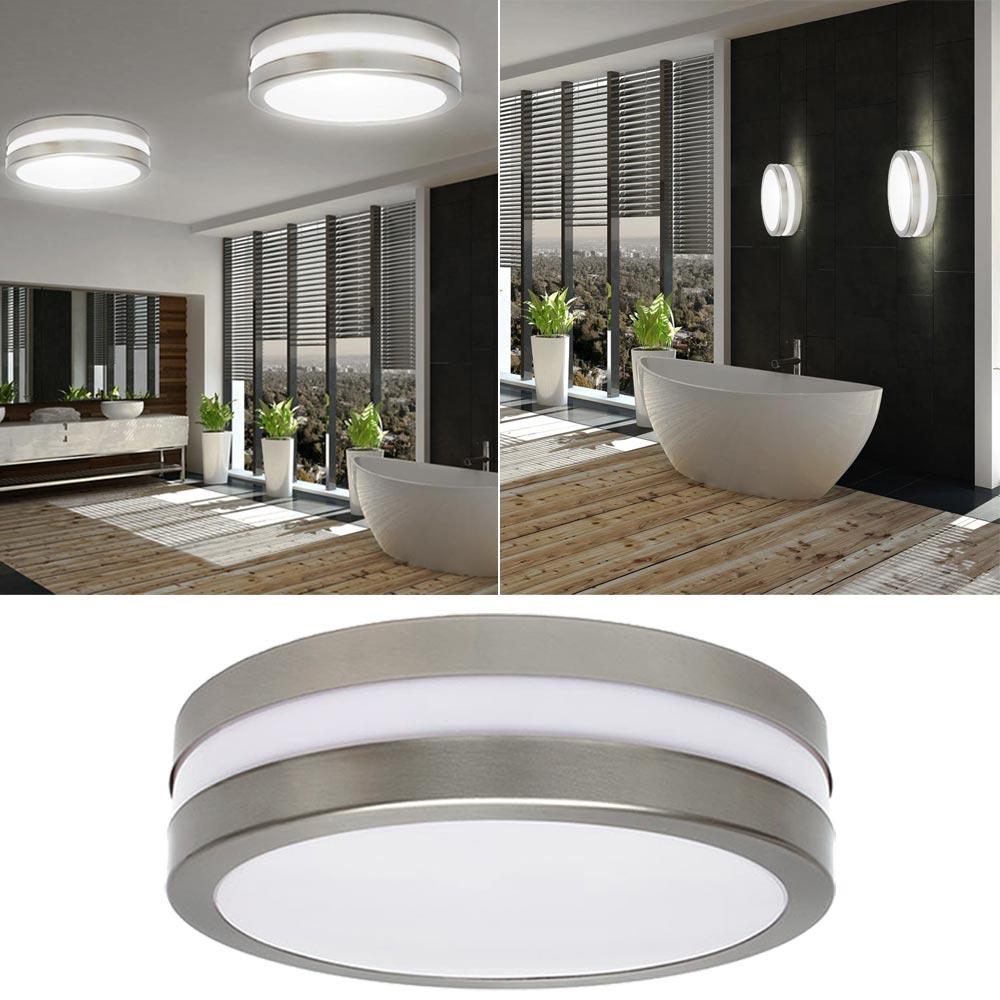 1 6x Ceiling Lights Bathroom Wet Room Indoor Lighting Ip44