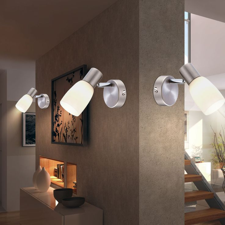 RGB LED wall lights with moving spot for your living space – Bild 5