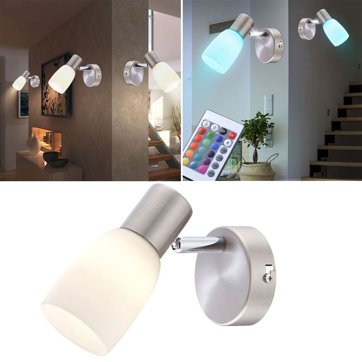 RGB LED wall lights with moving spot for your living space – Bild 2