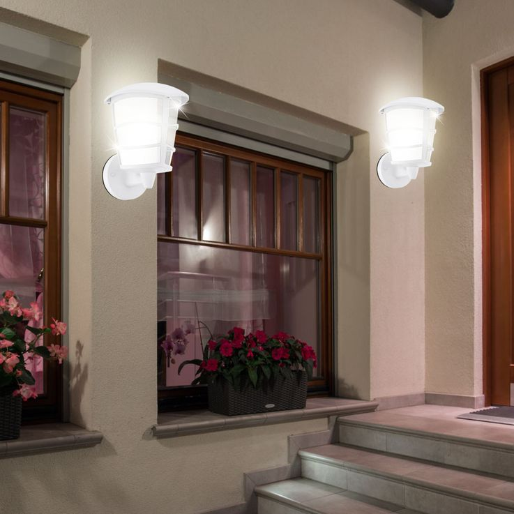 Set of 2 LED wall lamps made of ALU for your garden ALORIA-LED – Bild 2