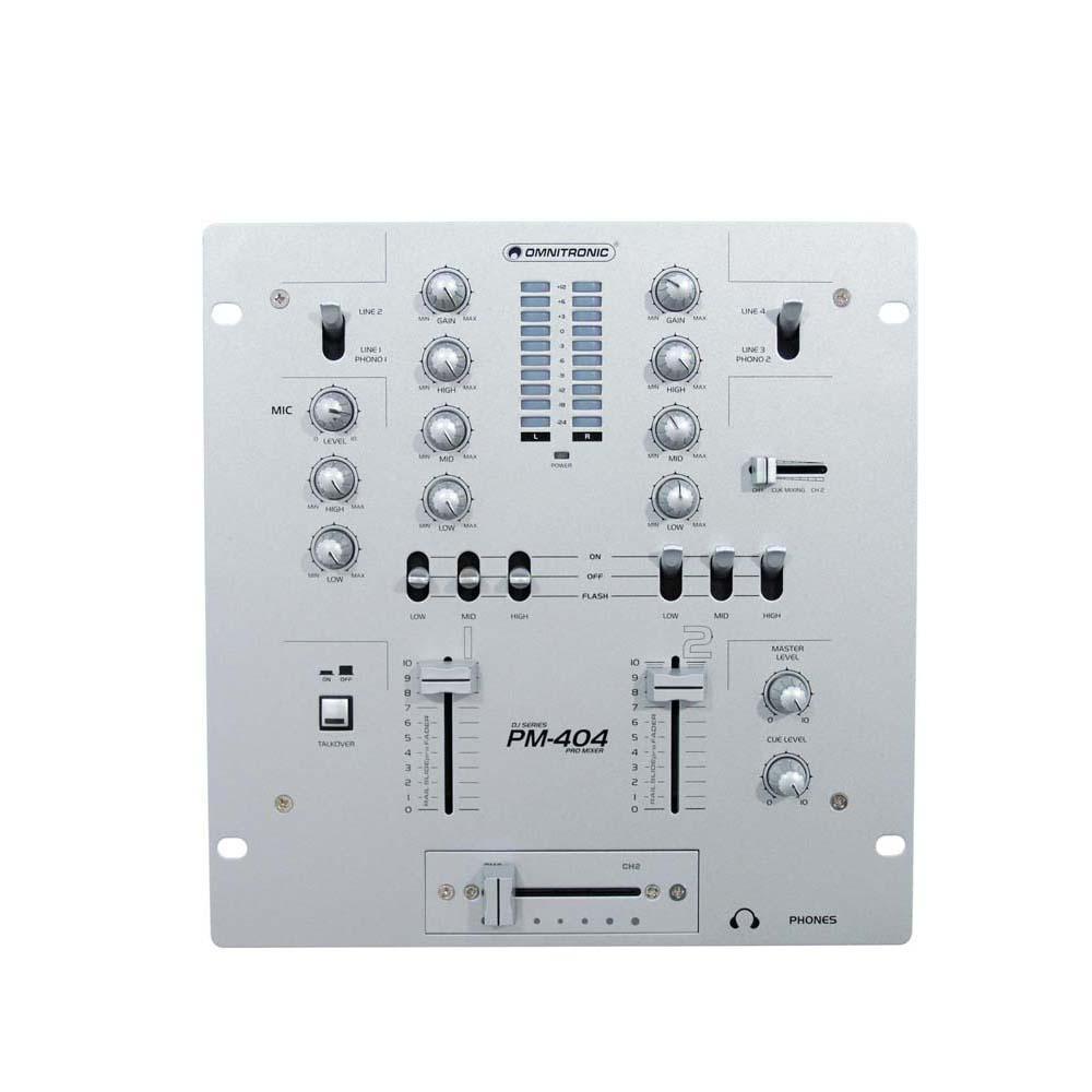 OMNITRONIC PM-404 DJ-Mixer – Bild 5