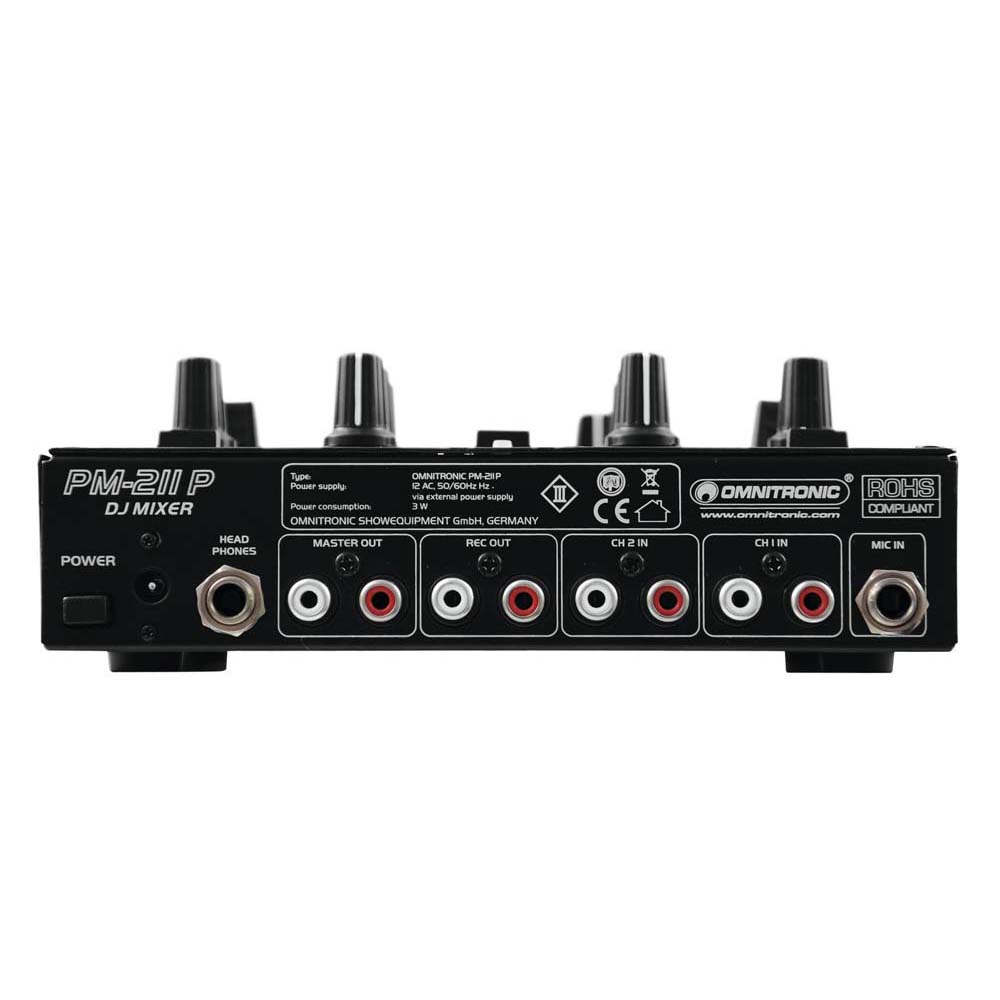 OMNITRONIC PM-211P DJ-Mixer mit Player – Bild 3