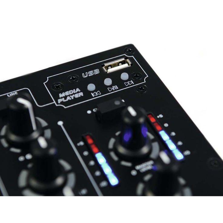 OMNITRONIC PM-311P DJ-Mixer mit Player 10006879 – Bild 4