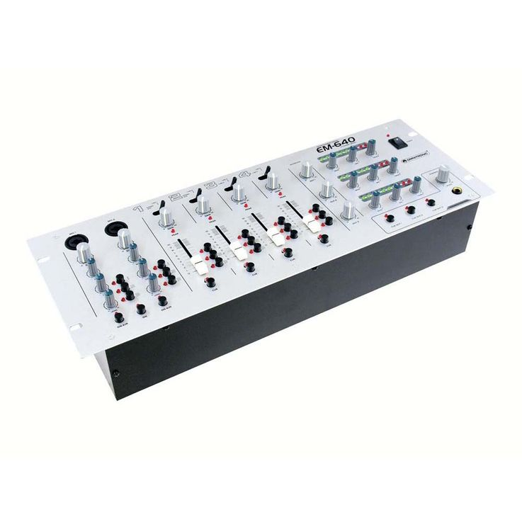 OMNITRONIC EM-640 Entertainment-Mixer – Bild 1