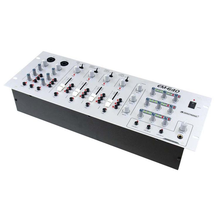 OMNITRONIC EM-640 Entertainment-Mixer – Bild 2