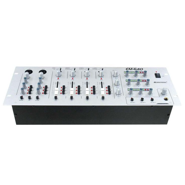OMNITRONIC EM-640 Entertainment-Mixer – Bild 3