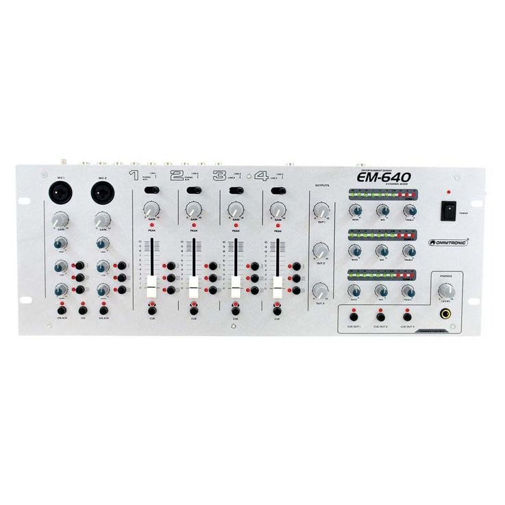 OMNITRONIC EM-640 Entertainment-Mixer – Bild 4