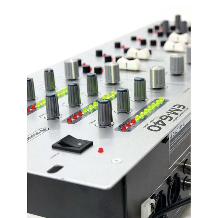 OMNITRONIC EM-640 Entertainment-Mixer – Bild 6