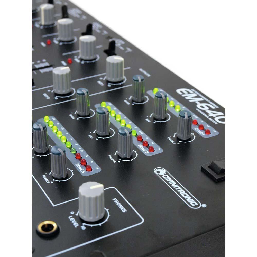 OMNITRONIC EM-640B Entertainment-Mixer – Bild 6