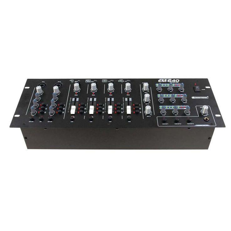 OMNITRONIC EM-640B Entertainment-Mixer 10007106 – Bild 3