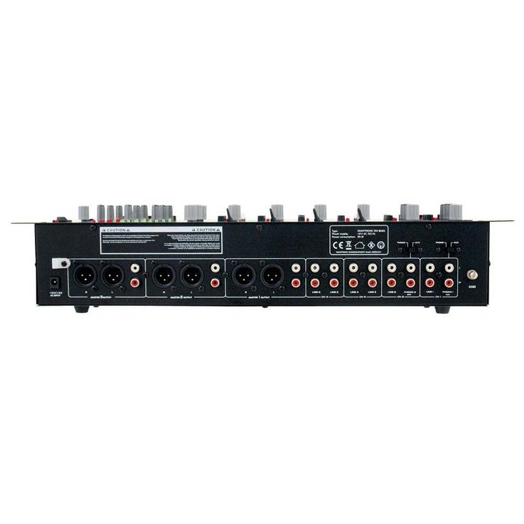 OMNITRONIC EM-640B Entertainment-Mixer – Bild 5