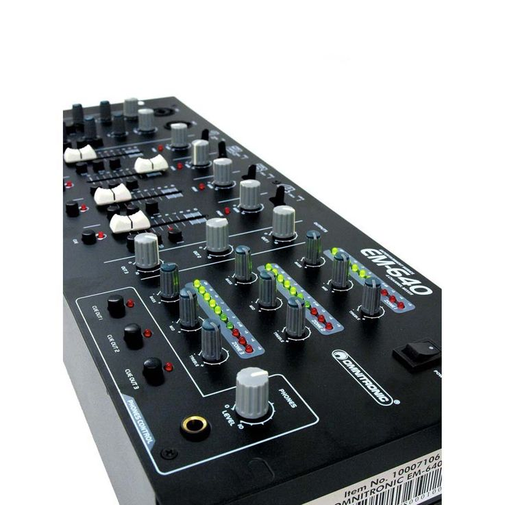 OMNITRONIC EM-640B Entertainment-Mixer – Bild 7