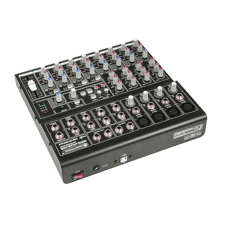 OMNITRONIC MRS-1402USB Recording-Mixer – Bild 3