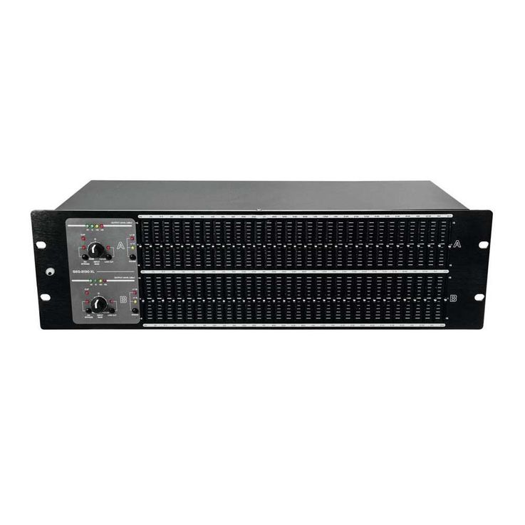 OMNITRONIC GEQ-2310XL Equalizer 2x31-Band 10355536 – Bild 2