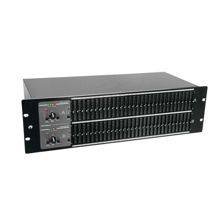 OMNITRONIC GEQ-2310XL Equalizer 2x31-Band 10355536 – Bild 4