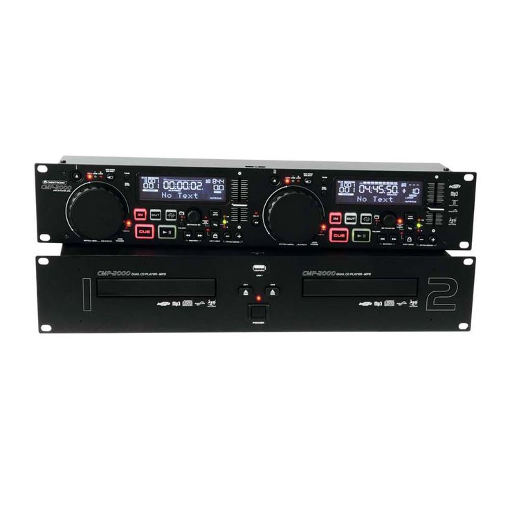 OMNITRONIC CMP-2000 Dual-CD-MP3-Player – Bild 4