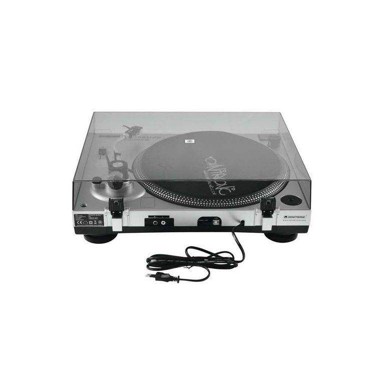 OMNITRONIC BD-1380 USB-Plattenspieler sil 10603043 – Bild 5