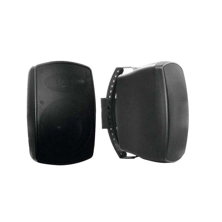 OMNITRONIC OD-5T Wandlautsprecher 100V schwarz 2x 11036920 – Bild 1