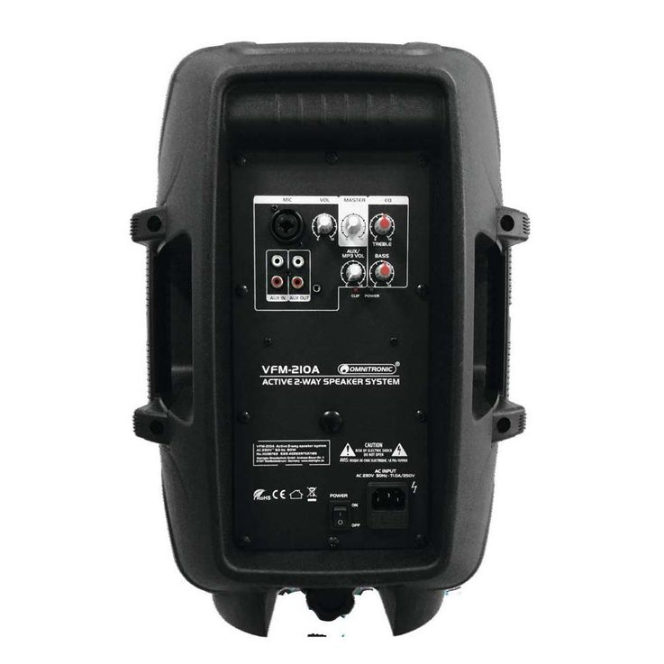OMNITRONIC VFM-210A 2-Wege Lautsprecher, aktiv – Bild 3