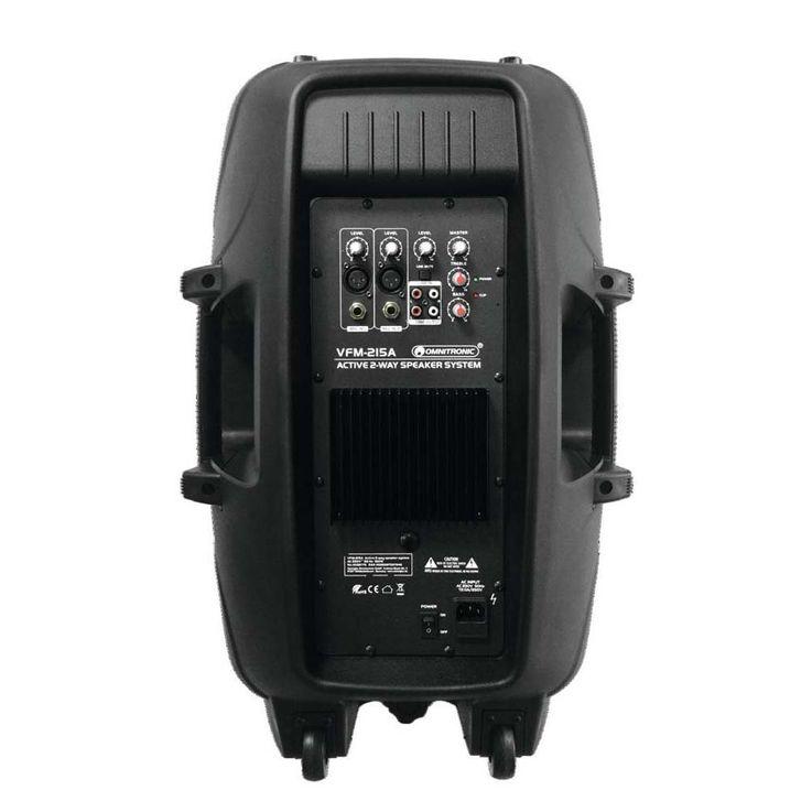 OMNITRONIC VFM-215A 2-Wege Lautsprecher, aktiv – Bild 3